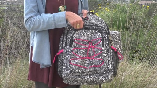 Sakroots Artist Circle Utility Backpack - image 2 from the video