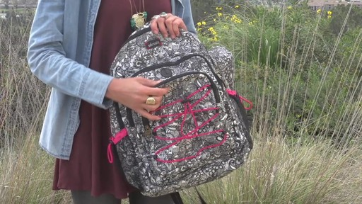 Sakroots Artist Circle Utility Backpack - image 3 from the video