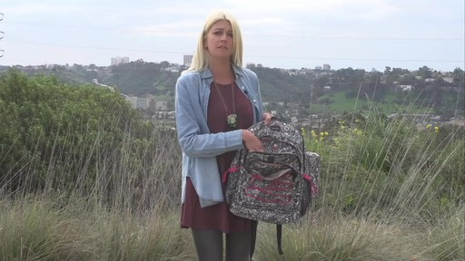 Sakroots Artist Circle Utility Backpack - image 4 from the video