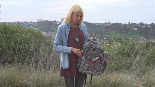 Sakroots Artist Circle Utility Backpack - image 5 from the video
