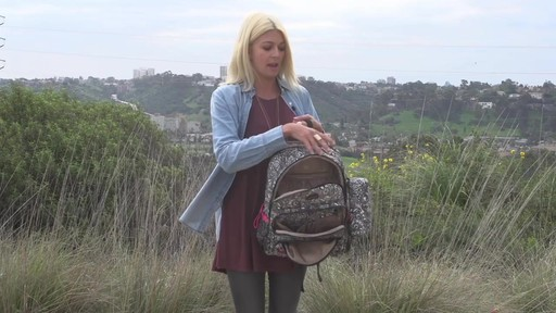 Sakroots Artist Circle Utility Backpack - image 7 from the video