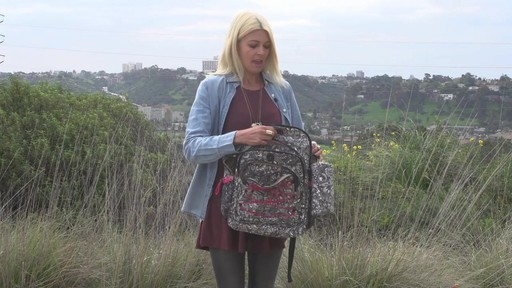 Sakroots Artist Circle Utility Backpack - image 8 from the video