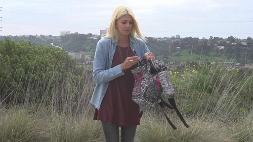 Sakroots Artist Circle Utility Backpack - image 9 from the video