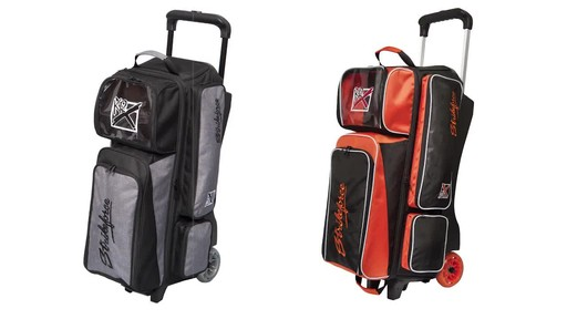 KR Strikeforce Bowling Krush Triple Bowling Ball Roller Bag - image 3 from the video