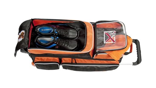 KR Strikeforce Bowling Krush Triple Bowling Ball Roller Bag - image 4 from the video