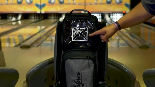 KR Strikeforce Bowling Krush Triple Bowling Ball Roller Bag - image 5 from the video