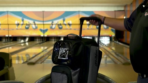 KR Strikeforce Bowling Krush Triple Bowling Ball Roller Bag - image 6 from the video