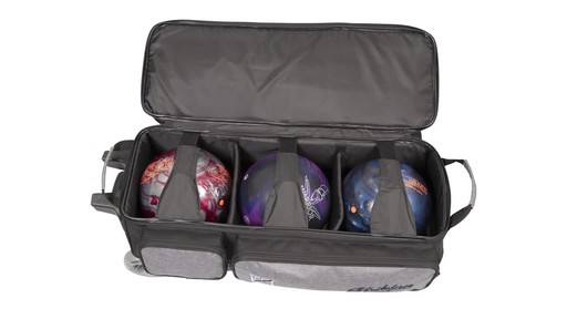 KR Strikeforce Bowling Krush Triple Bowling Ball Roller Bag - image 8 from the video
