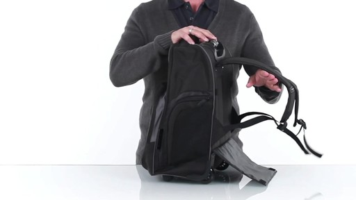 Targus - Compact Rolling Laptop Backpack - 16