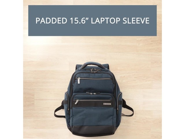 Samsonite Modern Utility GT Laptop Backpack- eBags Exclusive - image 1 from the video