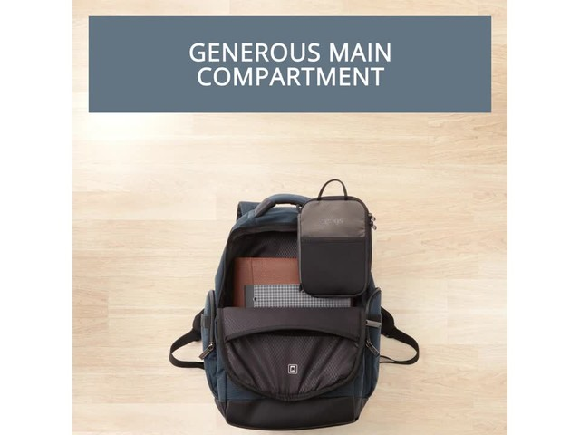 Samsonite Modern Utility GT Laptop Backpack- eBags Exclusive - image 3 from the video
