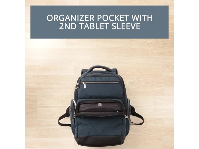 Samsonite Modern Utility GT Laptop Backpack- eBags Exclusive - image 6 from the video