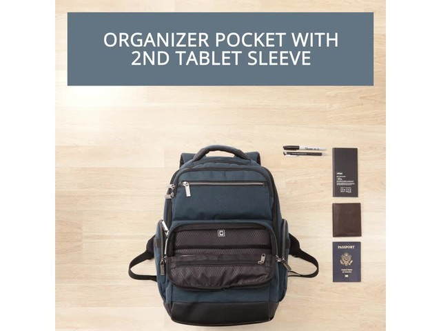Samsonite Modern Utility GT Laptop Backpack- eBags Exclusive - image 7 from the video