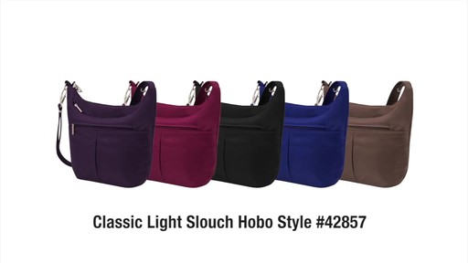 Travelon Anti-Theft Classic Light Slouch Hobo - eBags.com - image 10 from the video