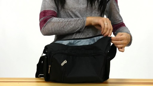 Suvelle Slouch Travel Everyday Shoulder Bag - image 10 from the video