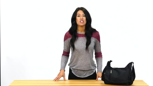 Suvelle Slouch Travel Everyday Shoulder Bag - image 2 from the video
