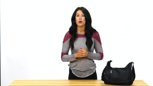 Suvelle Slouch Travel Everyday Shoulder Bag - image 6 from the video