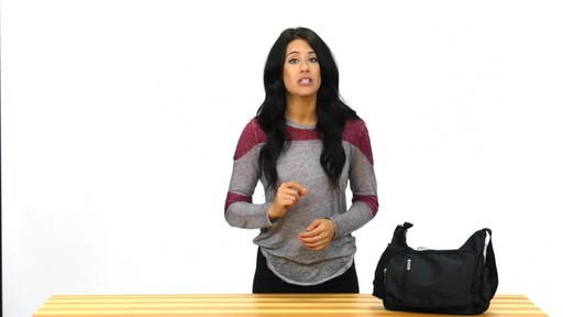 Suvelle Slouch Travel Everyday Shoulder Bag - image 7 from the video