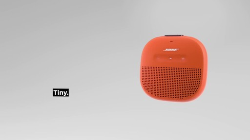Bose SoundLink® Micro Bluetooth Speaker - image 1 from the video