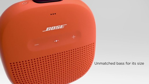 Bose SoundLink® Micro Bluetooth Speaker - image 2 from the video