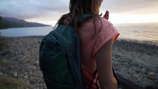 Osprey Women's Fairview Travel Backpack Series - image 10 from the video