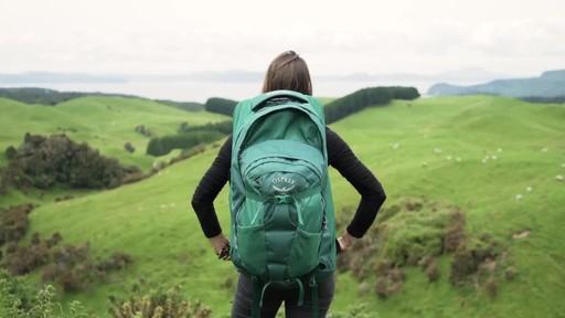 Osprey Women's Fairview Travel Backpack Series - image 3 from the video