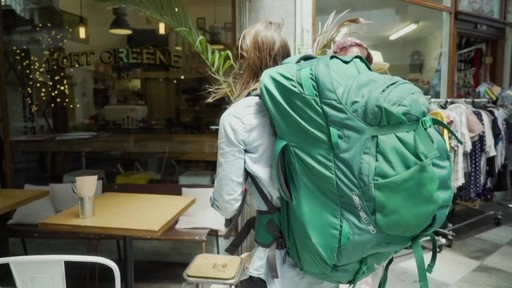 Osprey Women's Fairview Travel Backpack Series - image 8 from the video