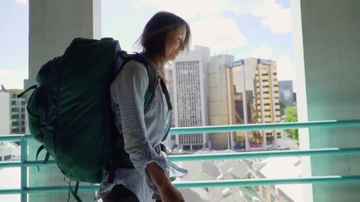 Osprey Women's Fairview Travel Backpack Series - image 9 from the video