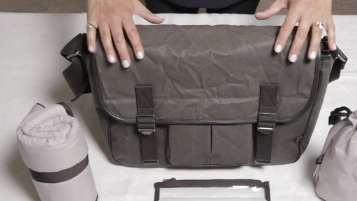 OiOi Crushed Wax Canvas Messenger Diaper Bag - eBags.com - image 1 from the video