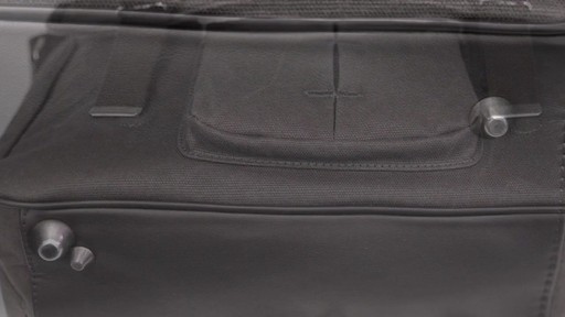 OiOi Crushed Wax Canvas Messenger Diaper Bag - eBags.com - image 7 from the video