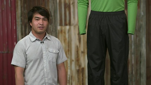 Patagonia Mens Torrentshell Pants - image 10 from the video