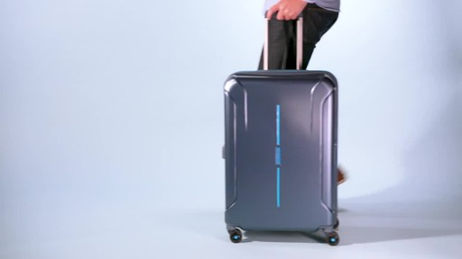 American Tourister Technum Expandable Hardside Spinner Luggage Collection - image 1 from the video