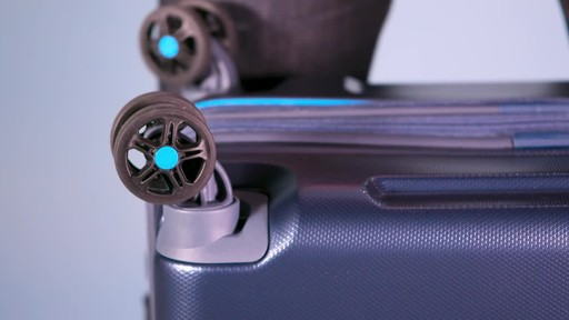 American Tourister Technum Expandable Hardside Spinner Luggage Collection - image 4 from the video