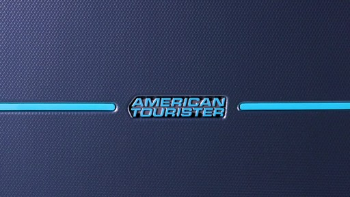 American Tourister Technum Expandable Hardside Spinner Luggage Collection - image 9 from the video