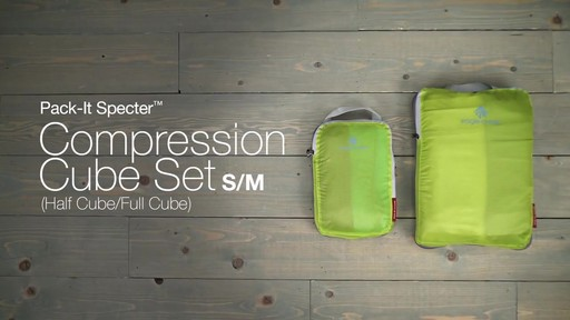 Eagle Creek Pack-It Specter 2-Piece Compression Cube Set - image 10 from the video