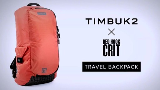 Timbuk2 Red Hook Crit Travel Backpack - eBags.com - image 10 from the video