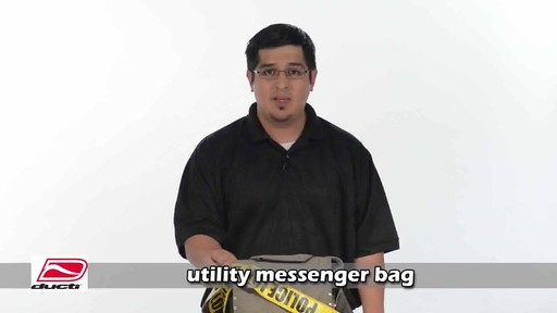 Ducti Utility Messenger Bag - image 1 from the video