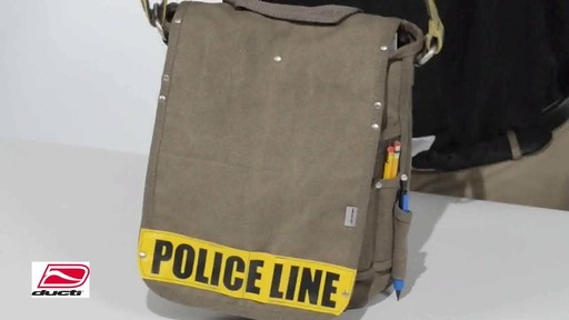 Ducti Utility Messenger Bag - image 4 from the video