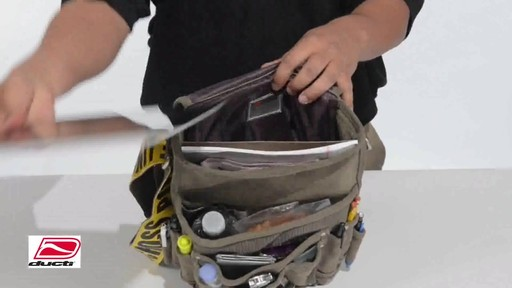 Ducti Utility Messenger Bag - image 5 from the video