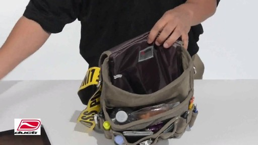 Ducti Utility Messenger Bag - image 6 from the video