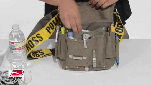 Ducti Utility Messenger Bag - image 7 from the video