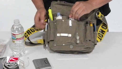 Ducti Utility Messenger Bag - image 8 from the video