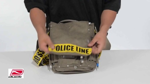 Ducti Utility Messenger Bag - image 9 from the video