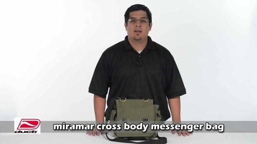 Ducti Miramar Cross Body Messenger - image 1 from the video