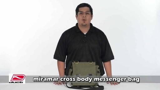 Ducti Miramar Cross Body Messenger - image 2 from the video