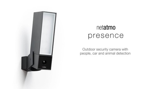 netatmo Presence Outdoor Security Camera - image 10 from the video
