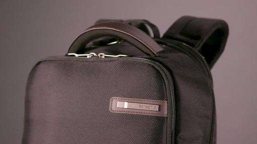 Samsonite Kombi Small Laptop Backpack - image 1 from the video