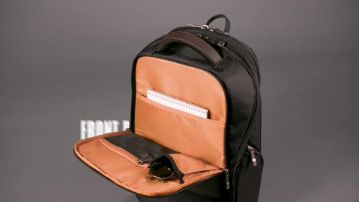 Samsonite Kombi Small Laptop Backpack - image 4 from the video