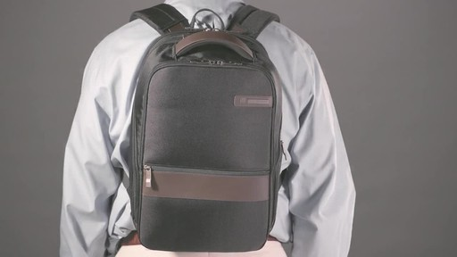 Samsonite Kombi Small Laptop Backpack - image 9 from the video