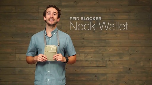 Eagle Creek RFID Blocker Neck Wallet - image 1 from the video